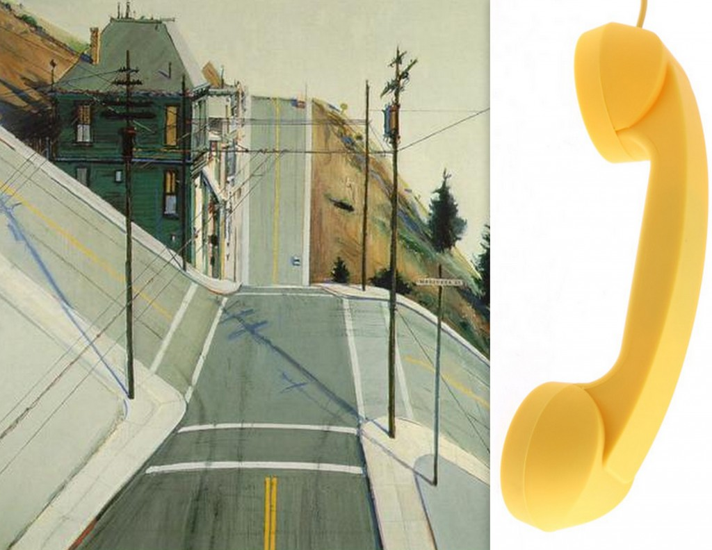 Thiebaud and Yellow Phone